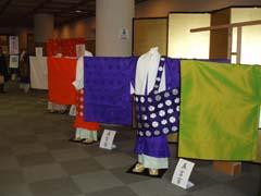 袈裟の展示会