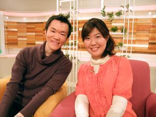 勝田真季さんと
