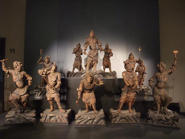 東京国立博物館の十二神将