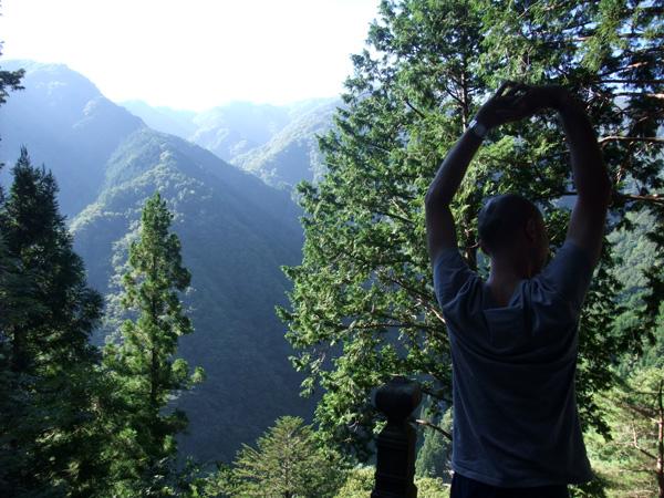 山の中の大陽寺