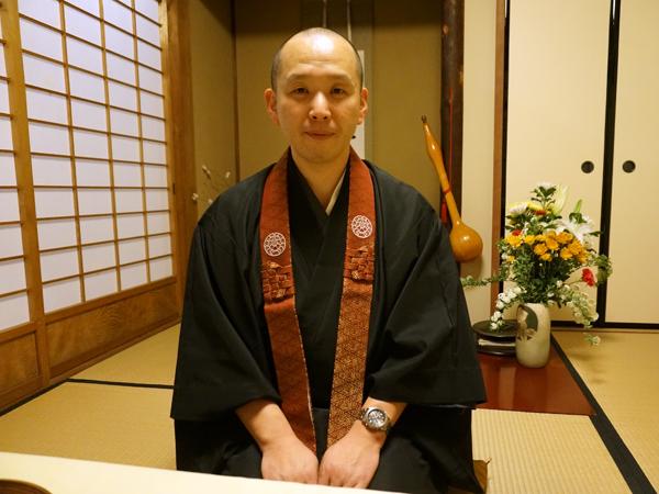 浄慶寺の中島住職