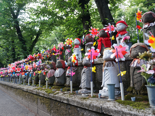 増上寺のお地蔵様たち
