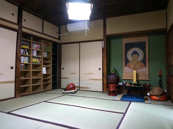 お寺の漫画図書館アフター