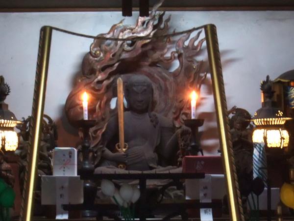 京都府・山科聖天の不動明王