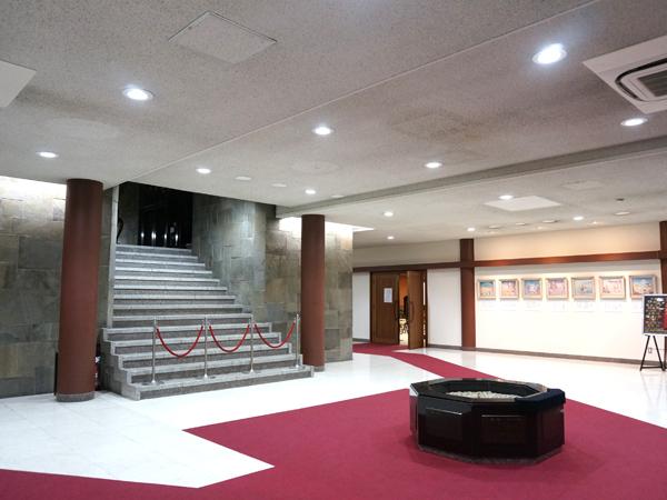 浅草寺五重塔の内部