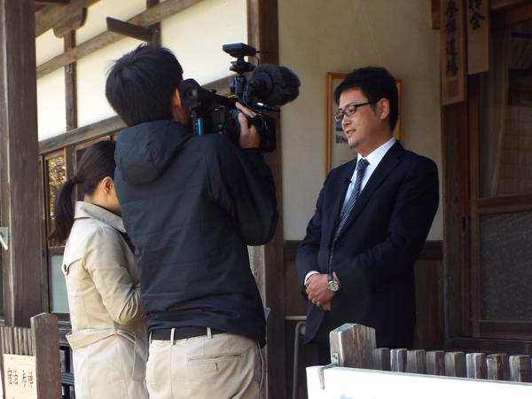 全国寺社観光協会平田理事長