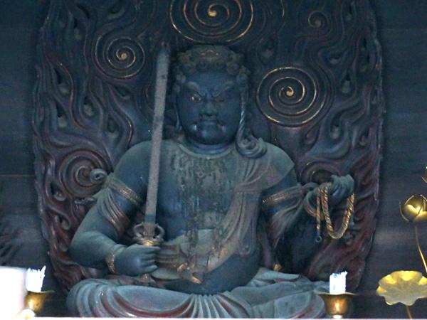奈良・西大寺の不動明王