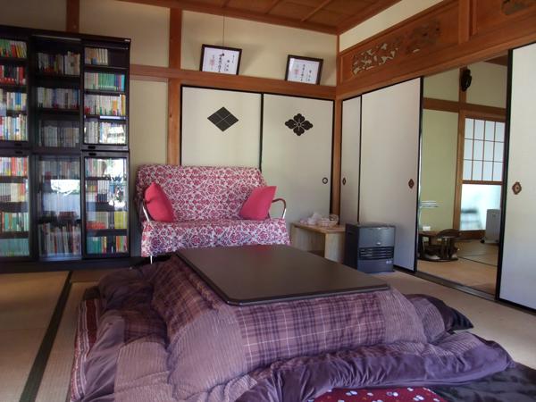 光澤寺の客室