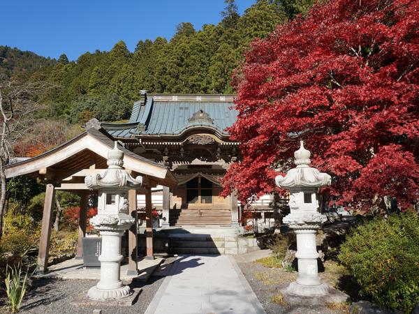 竹之坊の紅葉