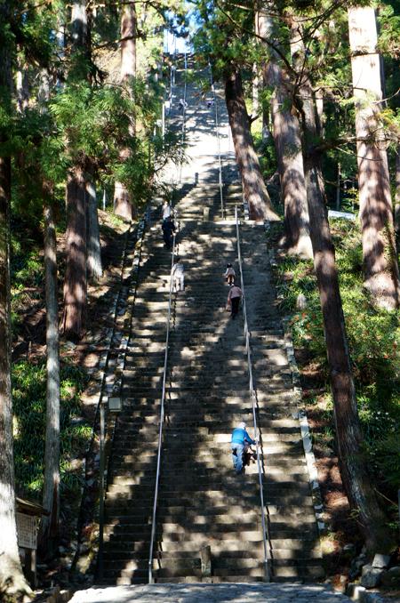 身延山の菩提梯