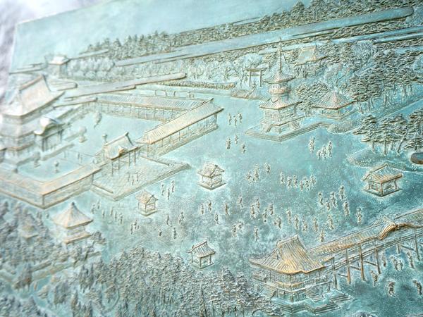 初代歌川広重の『東都名所上野東叡山全図』