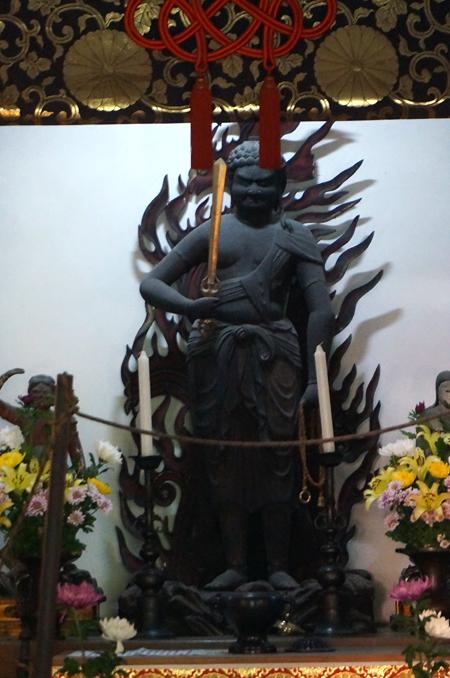 京都・平等院の不動明王