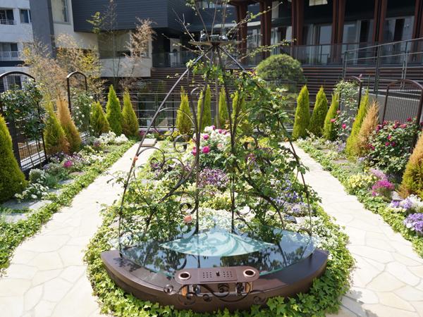 道往寺の樹木葬庭苑第一区画