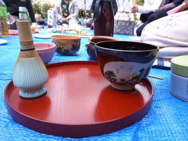 弁天様のお茶碗