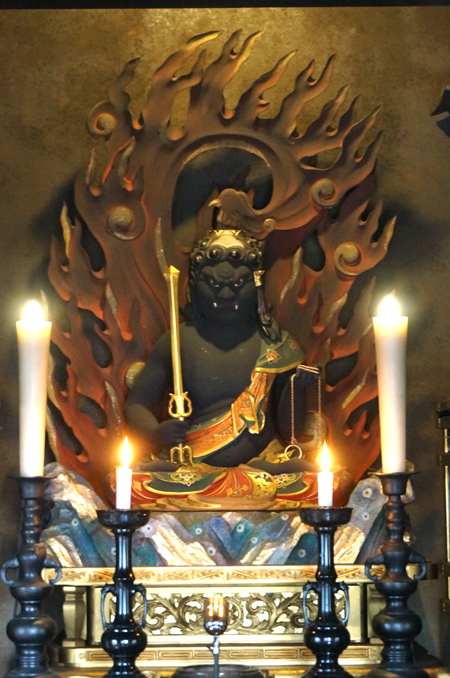 東京・南谷寺の不動明王