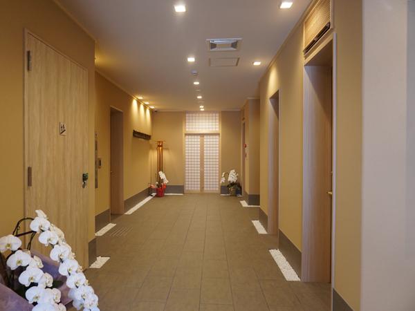 和空下寺町の廊下