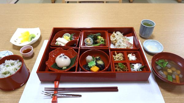 和空下寺町の精進料理