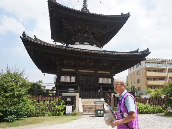 和空下寺町のガイドツアー