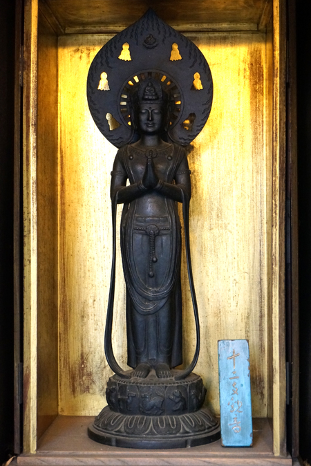 東京・深大寺の十二支観音