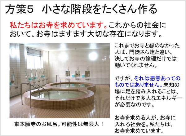 同朋会館のお風呂