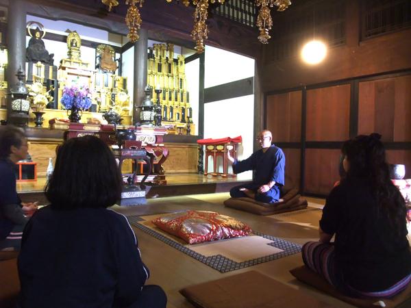 大陽寺の法話