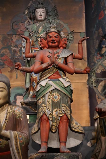東京国立博物館(仁和寺と御室派のみほとけ展)の阿修羅王