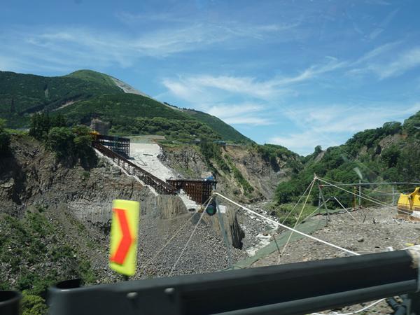 熊本地震の跡