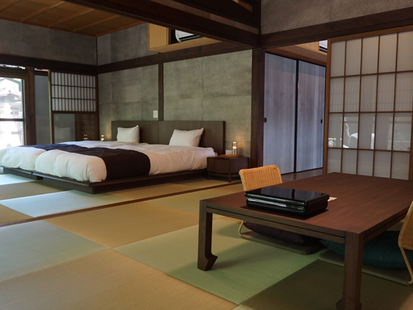 和空三井寺の客室