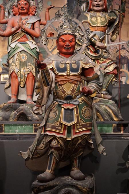 東京国立博物館(仁和寺と御室派のみほとけ展)の金毘羅王