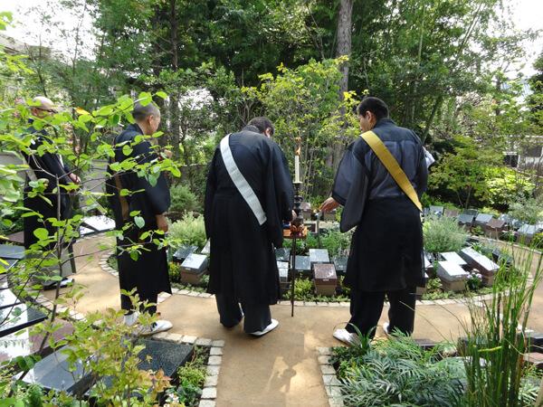 お寺の樹木葬