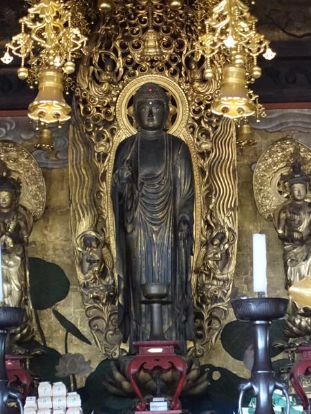 岡山・浄光寺の阿弥陀如来