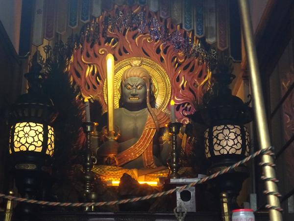 大阪・浪速寺の不動明王