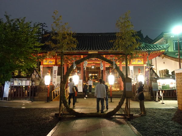 浅草神社の茅の輪