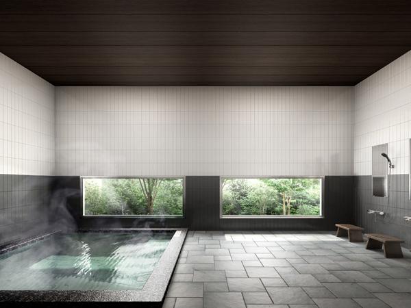 門前宿 和空法隆寺のお風呂