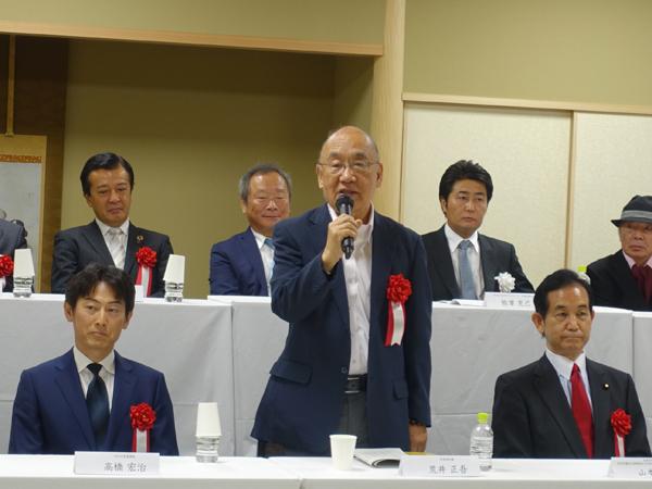 荒井正吾・奈良県知事