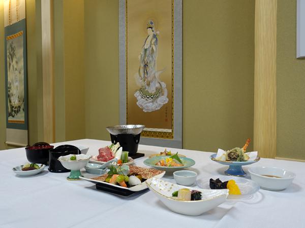 和空法隆寺の料理