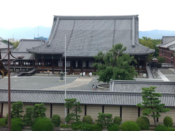 西本願寺の眺め