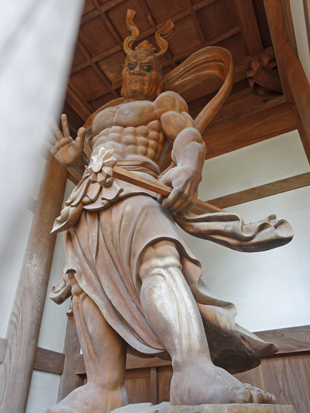 小川寺の仁王(吽形)