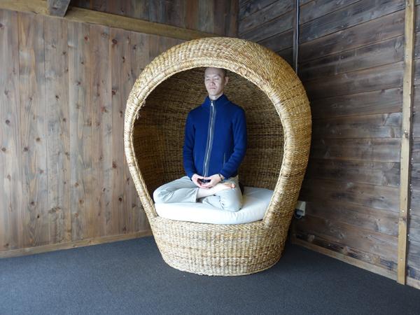 おおま宿坊 普賢院の坐禅体験