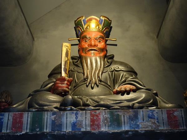 宝珠院の閻魔様