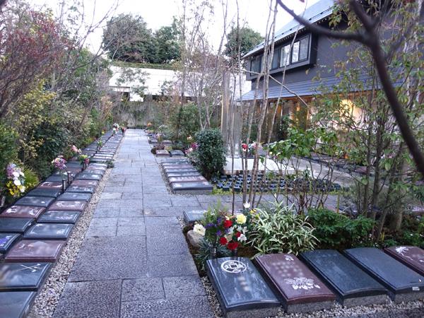 宝珠院の樹木葬庭苑
