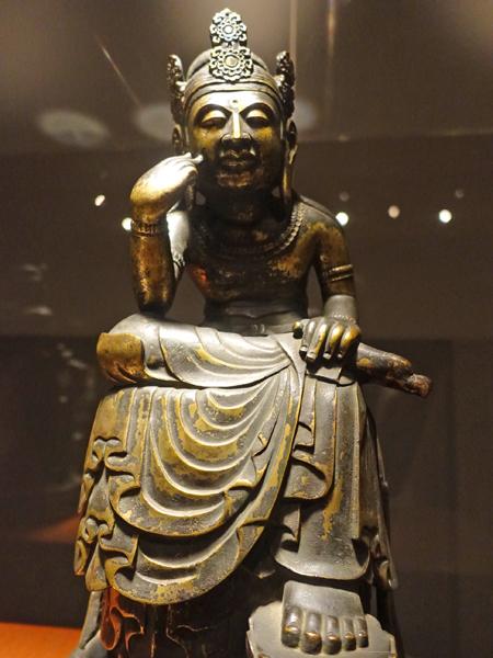 東京国立博物館の菩薩像