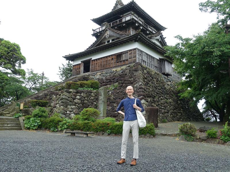 丸岡城とほーりー