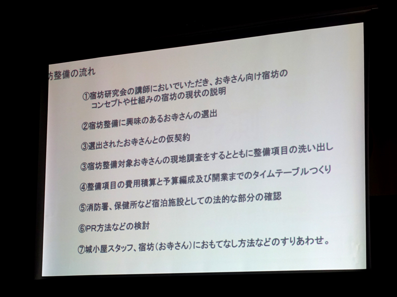丸岡城下町宿坊プロジェクト