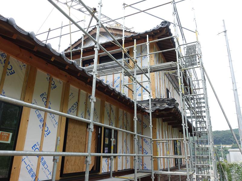 二尊院の宿坊建設