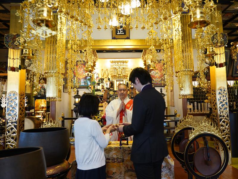 本光寺の一万円結婚式