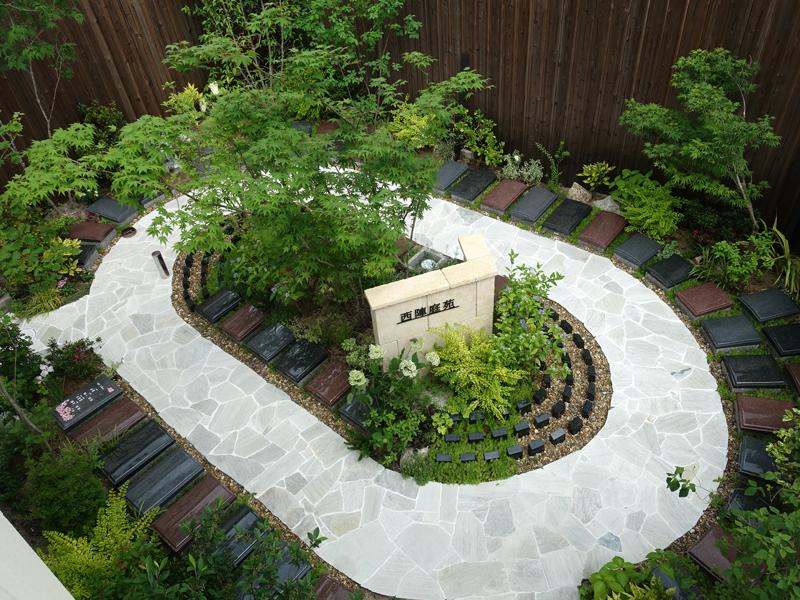 京都・善行院の西陣庭苑