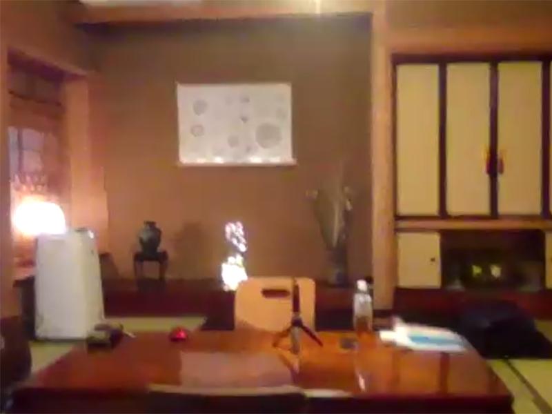 安楽寺の宿坊客室