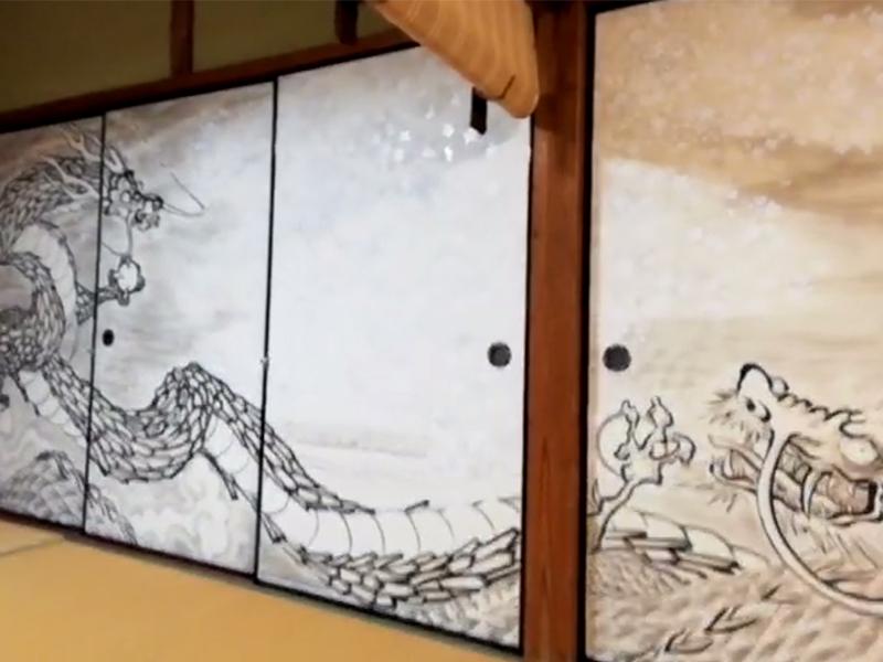 海蔵寺の宿坊襖絵