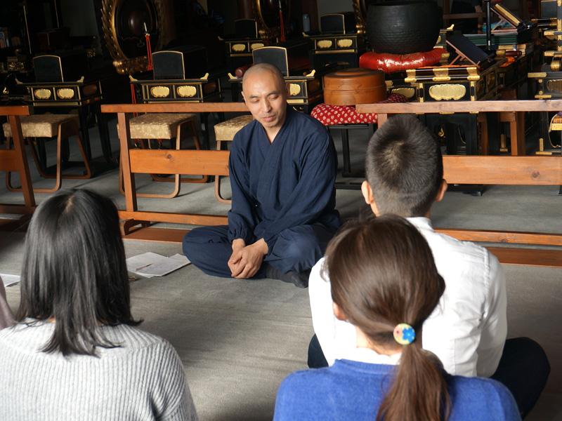 藤井隆英さんの瞑想指導